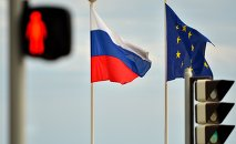 Relations between Russia and the EU have deteriorated with the escalation of the Ukrainian crisis, as western governments imposed economic sanctions on Russia, accusing Moscow of aiding independence supporters in eastern regions of the country.