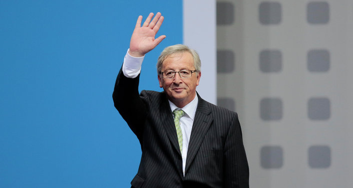 European European People's Party top candidate for the upcoming European elections, Jean-Claude Juncker
