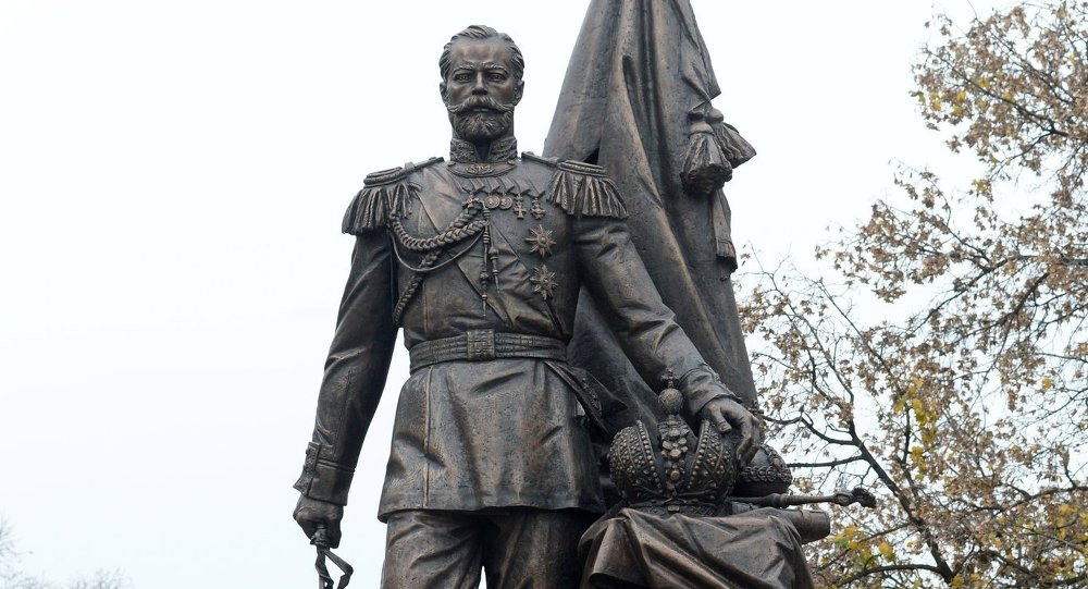 Monument to Tsar Nicholas II Unveiled in Belgrade
