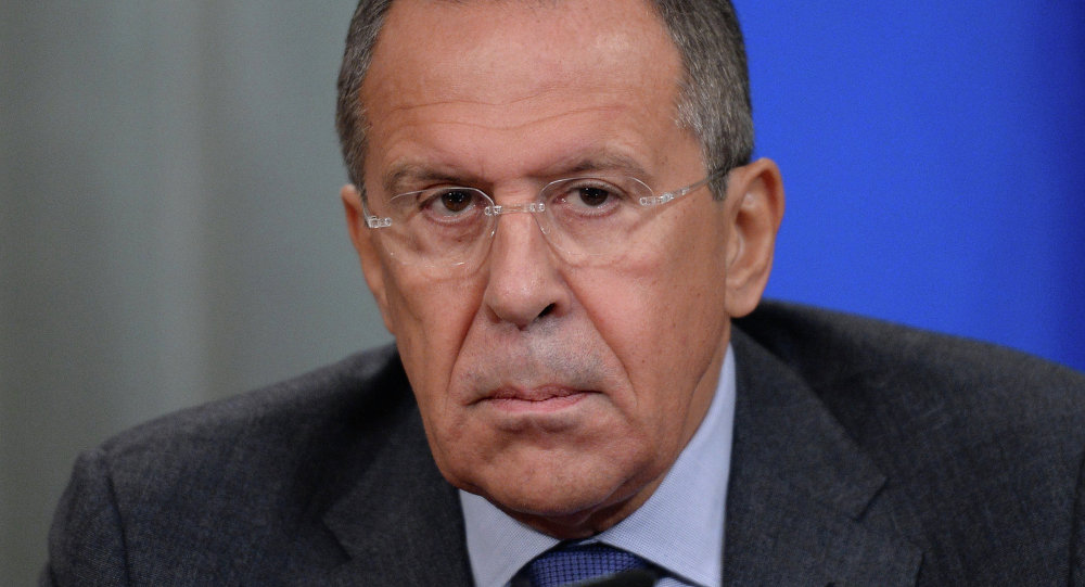 Sergey Lavrov meets with Mongi Hamdi