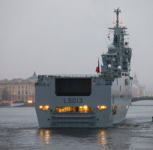 Moscow currently has no plans to file claims against France over the French president's decision to put the Mistral warship deal on hold, Russian Deputy Defense Minister Yuri Borisov said Tuesday.