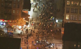 Protesters Clash With Police in Manhattan Over Ferguson Unrest