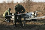 Technicians of the Southern Military District Engineering Corps assemble an unmanned aircraft