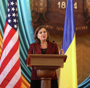 Assistant Secretary for European and Eurasian Affairs Victoria Nuland at Shevchenko University, Kyiv, Ukraine, Oct. 8, 2014