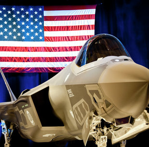 The first F-35 Lightning II joint strike fighter