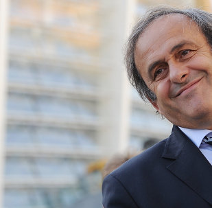 """Michel Platini, the incumbent UEFA president, has restated his idea to introduce the so-called """"white card"""" and has proposed to make offside rules more understandable, during the Dubai International Sports Conference, Goal.com reports."""