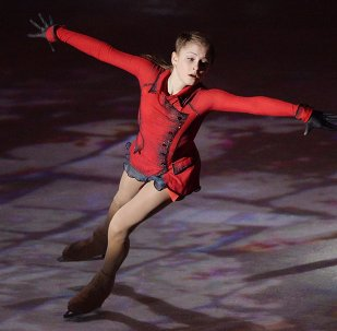 Figure skating. We Are The Champions gala performance