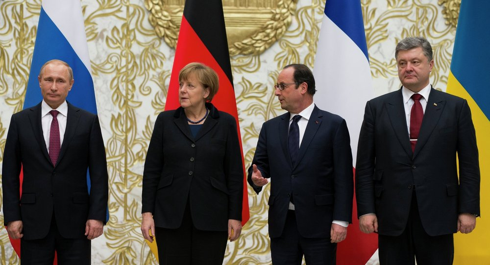 Normandy Quartet Leaders Agree to Continue Talks on Monday