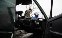 A patrol leader of the OSCE Special Monitoring Mission sustained injuries in the village of Shirokino in Ukraine's southeast.
