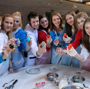Miss Russia Participants Prepare to Celebrate Orthodox Easter