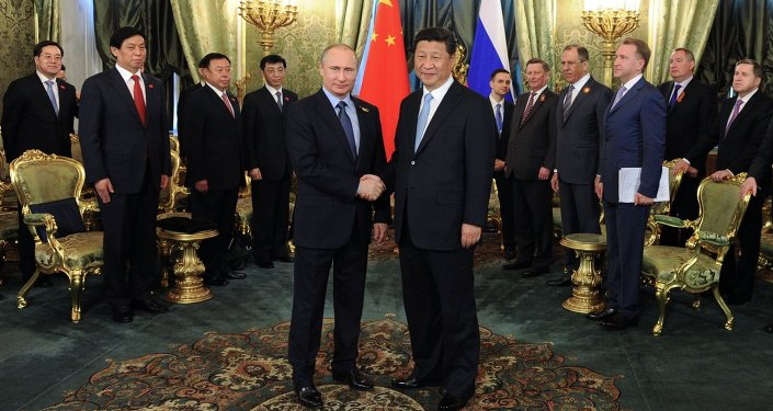 President Vladimir Putin meets with Chinese President Xi Jinping