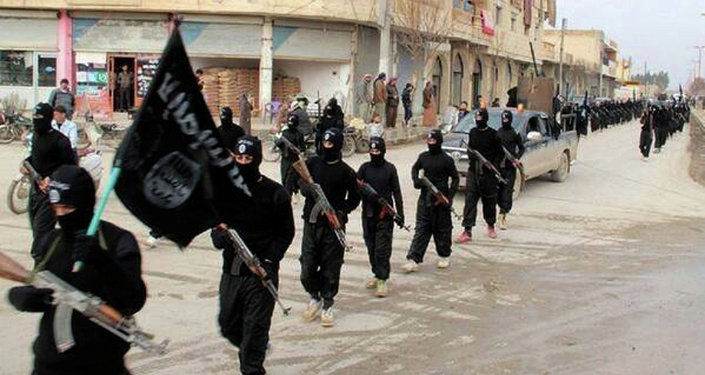 Fighters from the al-Qaida linked Islamic State of Iraq and the Levant (ISIL).