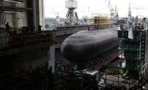 Diesel and electric submarine Rostov-on-Don launched