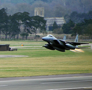 The celebrations of US Independence Day at UK Royal Air Force Lakenheath station hosting US Air Force were cancelled.