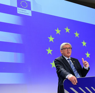 European Commission President Jean-Claude Juncker gives a press conference on Greece at the EU headquarters in Brussels on June 29, 2015.