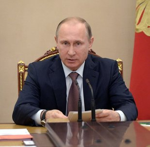 President Vladimir Putin holds Security Council meeting