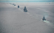 Russian Pacific Fleet ships