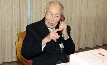 World's Oldest Man Sakari Momoi