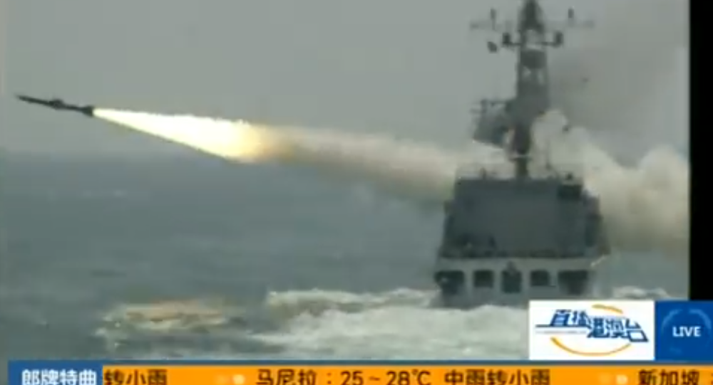 China's Cutting-Edge Missile System Snapped on Camera 1024649802