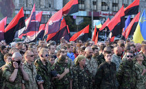 Right Sector public meeting in Kiev