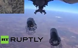 GoPro captures Russian jet dropping munitions on ISIS
