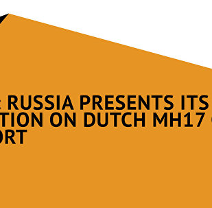 Russia Presents Its Position on Dutch MH17 Crash Report