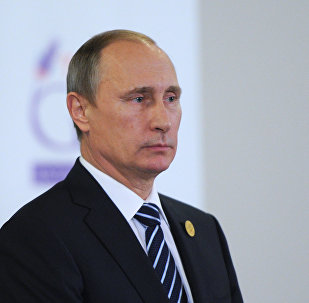 Russian President Vladimir Putin participates in G20 summit in Turkey