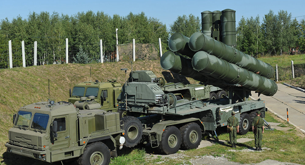 S-400 Triumph air defense system protects Moscow airspace
