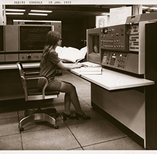 An NSA supercomputer in the 1970s