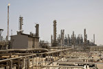 This May. 3, 2009 file photo shows an oil facility in Jubeil, about 600 km from Riyadh, Saudi Arabia