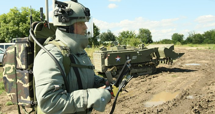 State-of-the-art robotic demining systems have been put into service at Russia's Southern Military District, news reports said
