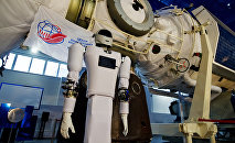 Cosmonaut Training Center displays new humanoid robotic system Andronaut