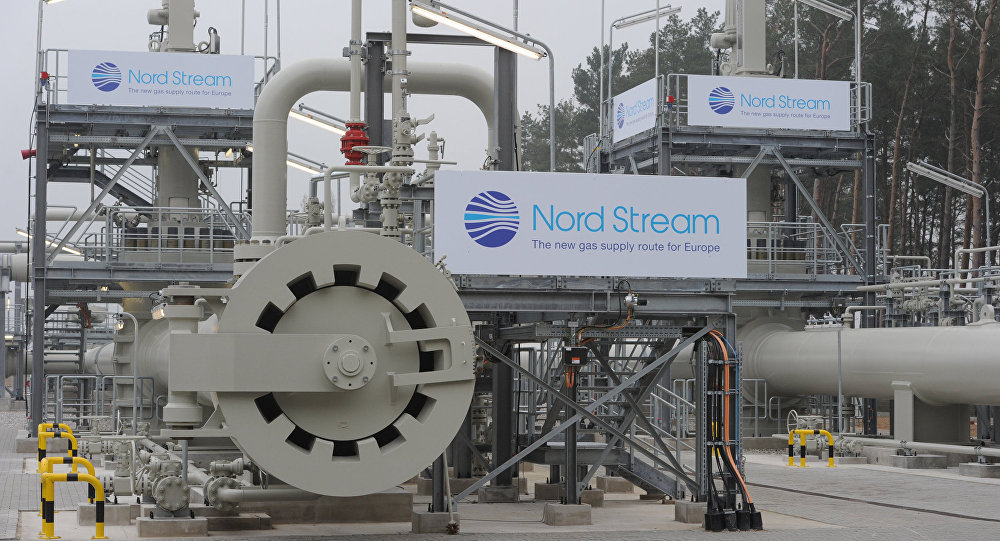 Nord Stream gas pipeline launched in Germany