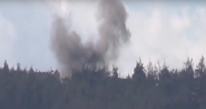 Turkey Shells Civilian Homes on Syrian Border, Russian MoD Has Video Proof
