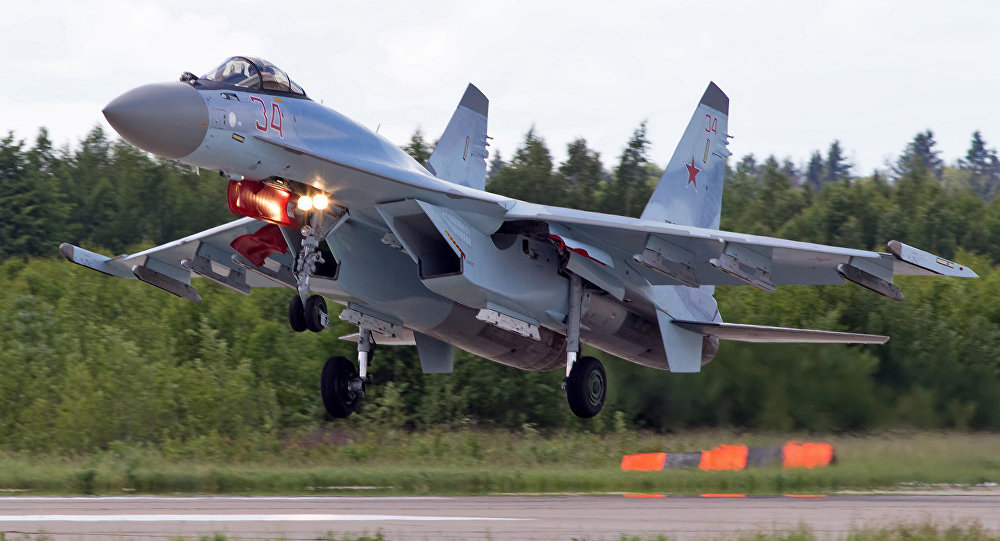 Most modern russian aircraft - Su 35s At Its Finest Advanced Fighter Which Started Its Mission In