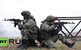 Russia: Drills held utilising new 'Ratnik' infantry combat system in Pskov