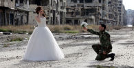 Love Blooms on the  Battlefield: A Wedding Amid the Ruins of Homs