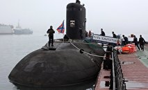 Life of the crew of Pacific Fleet's diesel submarine Ust-Kamchatsk