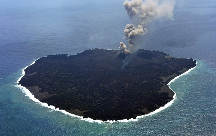Creation Destruction 2013 Core Radio: Volcano Gives Birth To New Island Near Japan