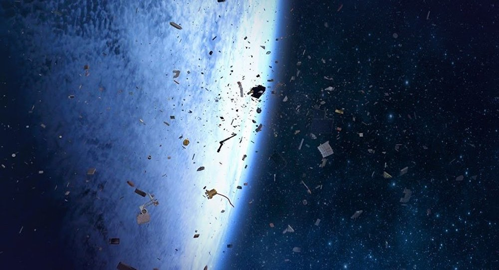 Russian Startup Seeks To Solve Space Junk Problem With
