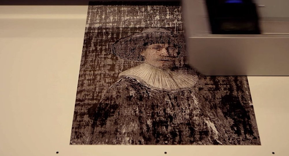 ING Brings Rembrandt 'Back to Life' With a 3D-Printed Painting