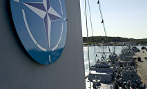 NATO naval mine countermeasure vessels berth in Turku, Finland, during the international Northern Coasts 2014 military exercise. file photo