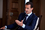 The primary aim of terrorists fighting in Syria is to spread radical ideology among civilians to undermine the foundations of civil society, Syrian President Bashar Assad said Monday during a meeting with Chrysostomos II, the archbishop of Nova Justiniana and All Cyprus.