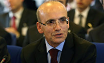 Turkish Deputy Prime Minister Mehmet Simsek. File photo