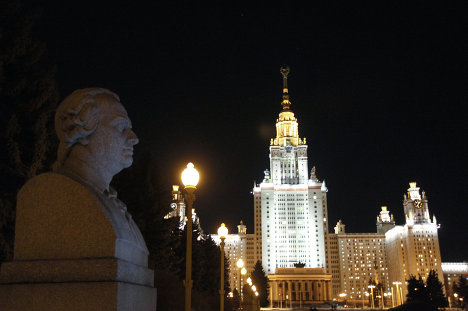 Earth Hour 2011 in Moscow