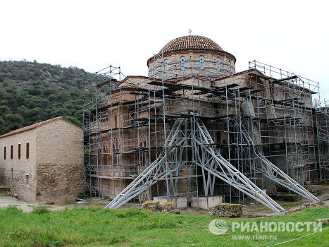 Restoration of Daphni Monastery