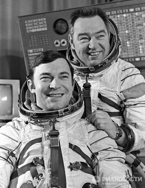 Russian space pioneers