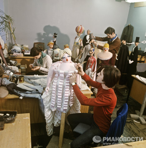 Obraztsov, a world class puppet theatre and museum