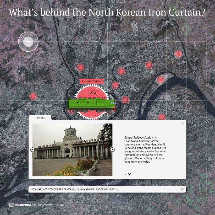 What's behind the North Korean Iron Curtain?