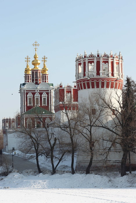 New Maiden's Convent in Moscow